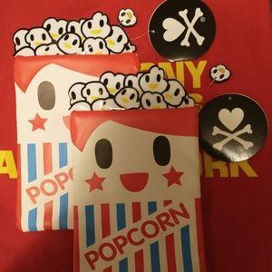 3/$50- Tokidoki Pencil Case + Mini Posters!!